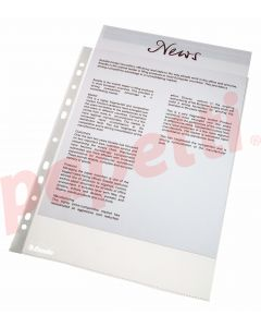 File de protectie A4, transparente, 38 mic, 100/set, Esselte