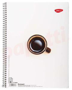 Caiet cu spira A4, 80file, matematica Eminent Daco