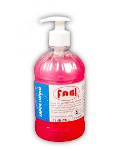 Sapun lichid roz, glicerina, 500ml, FABI
