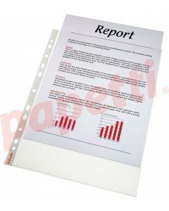 File de protectie A4, transparente, 75 mic, 100/set, Esselte