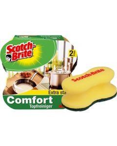 Bureti cu canelura, 2buc/set, Scotch Brite Comfort