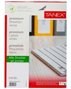 Etichete autoadezive albe 1/A4, 210x297mm, 100coli/cutie, Tanex