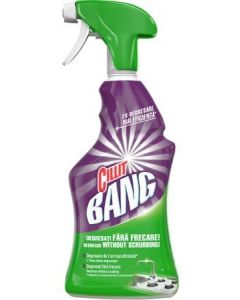 Detergent cu pulverizator ptr. indepartarea grasimilor, 750ml, Grease&Sparkle Cillit Bang