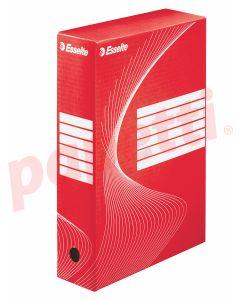 Cutie pentru arhivare 345x245x80, rosie, Boxy Esselte
