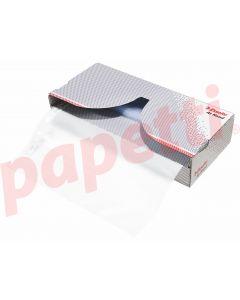 Dispenser cu file de protectie A4, transparente, 43 mic, 50buc/cutie, Esselte