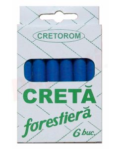 Creta forestiera albastra 6buc/cutie Cretorom