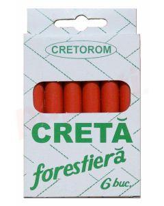 Creta forestiera rosie 6buc/cutie Cretorom