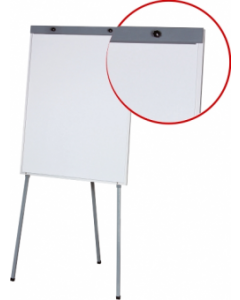 Flipchart magnetic, 100cm x 70cm, Optima Economy