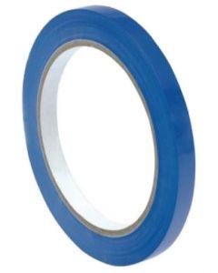 Banda adeziva pentru sigilarea pungilor, albastra 9mm x 66m