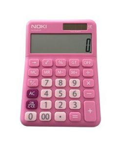 Calculator de birou 12 digit, roz, Noki HCS001P