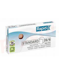 Capse nr.26/6 Rapid Standard