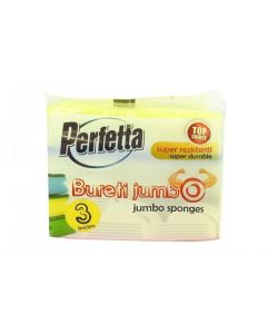 Bureti jumbo cu canelura, 148x65x40mm, 3buc/set, Perfetta/Mister Point