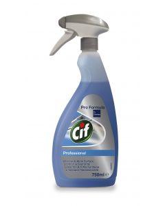 Detergent cu pulverizator ptr. geamuri, oglinzi si suprafete, 750ml, Professional CIF