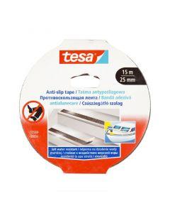 Banda adeziva antialunecare, neagra, 25mm x 15m, Tesa