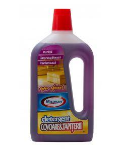 Detergent pentru toate tipurile de covoare, mochete, tapiterii, 1L, MSV