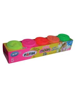 Plastilina usoara, 5 culori normale, Modeling Dough Fatih