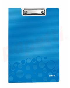 Clipboard dublu albastru metalizat A4 Wow Leitz