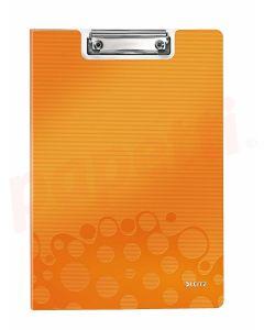 Clipboard dublu portocaliu metalizat A4 Wow Leitz
