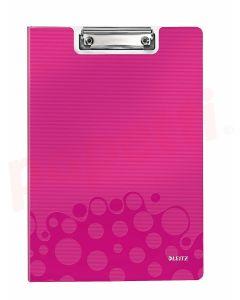 Clipboard dublu roz metalizat A4 Wow Leitz