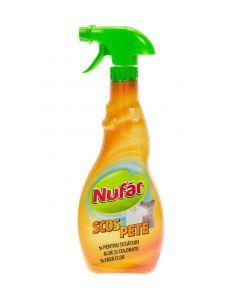 Detergent cu pulverizator ptr. scos pete de pe tesaturi, 500ml, Nufar