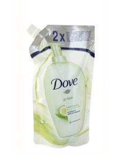 Rezerva sapun lichid, verde, 500ml, Dove Go Fresh