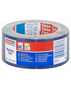Banda adeziva marcare, PVC albastru, 50mm x 33m, Tesa