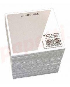 Rezerva cub hartie alba Aurora