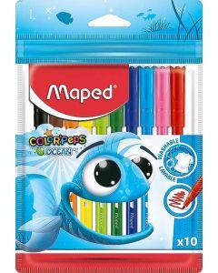 Carioca 10 culori/set Color Peps Ocean Maped