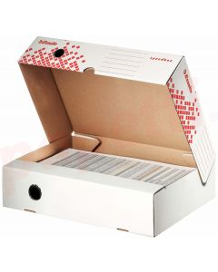 Cutie pentru arhivare orizontala 350x250x80, alba, Speedbox Esselte