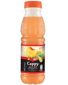 Cappy Pulpy piersici 0,33l, 12buc/bax