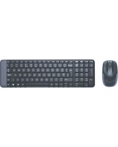 Kit tastatura fara fir si mouse optic fara fir, MK220 Logitech