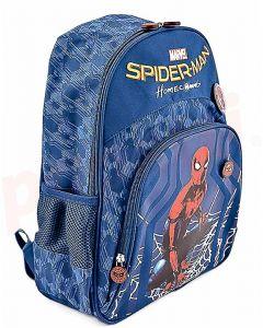 Ghiozdan scolar 3D clasele I-IV, SMRS1603-2, bleu, Spiderman Pigna