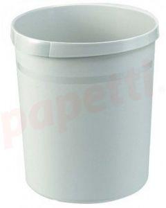 Cos plastic pentru gunoi, gri, 18L, Han Grip