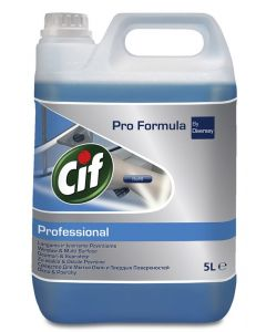 Detergent geamuri, oglinzi, 5L, Professional CIF
