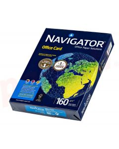 Carton copiator A4, 160g, alb, Navigator Office Card
