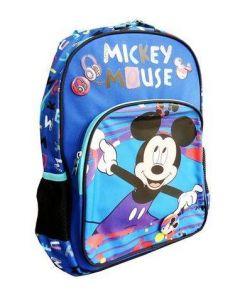 Ghiozdan scolar clasa 0, MKRS1942-1, albastru-multicolor, Mickey Mouse Pigna