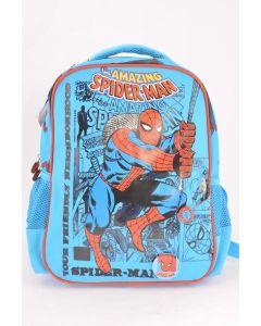 Ghiozdan gradinita, SMRS1741-4, albastru deschis, Spiderman Pigna