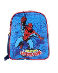 Mini ghiozdan gradinita, SMRS1828-2, albastru, Spiderman Pigna