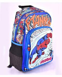 Ghiozdan scolar clasa 0, SMRS1942-1, albastru multicolor, Spiderman Pigna