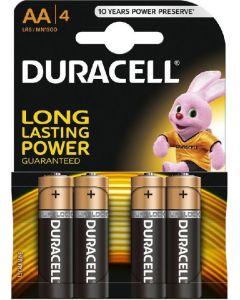 Baterie alcalina, cilindrica R6, AA, 4buc/set, Duracell