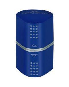 Ascutitoare tripla, albastru, Grip Faber Castell