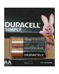 Baterie alcalina, cilindrica R6, AA, 2buc/set, Duracell