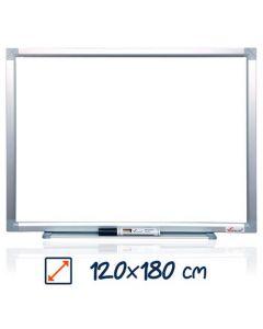 Whiteboard magnetic, 120cm x 180cm, Visual