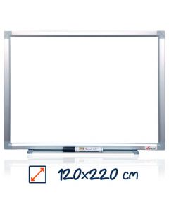 Whiteboard magnetic, 120cm x 220cm, Visual
