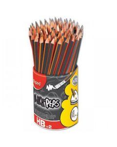 Creion cu guma, HB, 72buc, Maped
