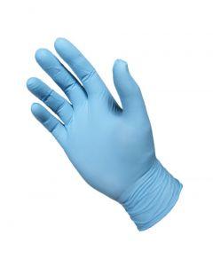 Manusi examinare din nitril, nepudrate, albastru, marimea M, 100 buc/set
