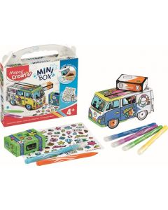 Set creativ, Jucarie carton, Mini Box Maped