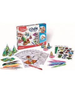 Set creativ, Memorie, Color&Play Maped
