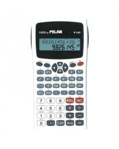Calculator de birou, stiintific, 10+2dig, alb, Milan M240
