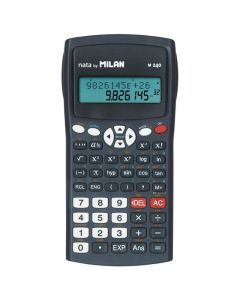 Calculator de birou, stiintific, 10+2dig, negru, Milan M240